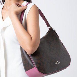 Coach Bags - Coach classy monogram logo shoulder bag